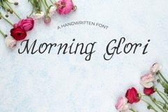 MorningGlori Font Product Image 1