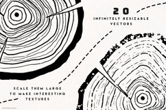 Timber Vector Tree Rings Illustrations Product Image 6