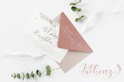 Amiela - Flower Calligraphy Product Image 11