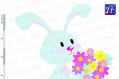 Easter bunny clip art - Personal and commercial use - Easter Product Image 6