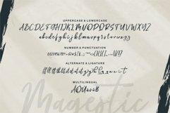 Magestic - A Brush Script Font Product Image 3