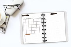 Undated monthly weekly daily planner sheets. Printable A5 Product Image 6