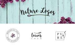 Nature & floral logos + BONUS Product Image 5