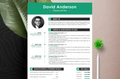 Clean Editable Resume Cv Template in Word Apple Pages Format Product Image 5