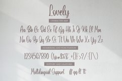 Lovely Script Product Image 5