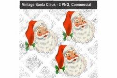 Vintage Santa Claus Bundle, Christmas, Sublimation PNG Art Product Image 1