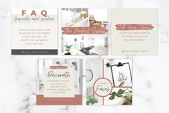 Instagram Post Templates for Canva | Beige & Rust Product Image 6