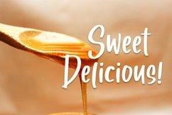 Web Font Honey Moon - Handlettering Font Product Image 5