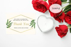 """7"""" x 5"""" Card Mockup / Invitation Card / Save the date Card Product Image 3"""