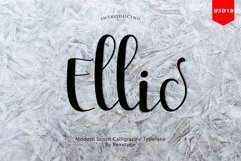 Ellic Script Product Image 1
