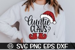 Auntie Claus - SVG PNG EPS DXF Product Image 1