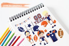 American Football graphics and illustrations Product Image 3