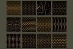 Black gold Art Deco backgrounds Product Image 2