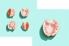 Bright grapefruit or red orange, minimal concept Product Image 1