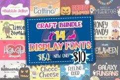 Best Display Font Bundle Product Image 1