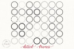 Dotted Circle Wreaths Frame Product Image 1