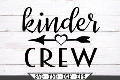 Funny Kinder Crew SVG Product Image 2