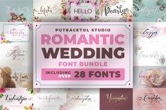 Romantic Wedding Font Bundles! Product Image 1
