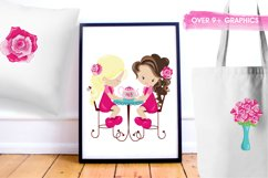Tea Time graphics and illustrations Product Image 5