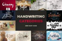 Best Seller Bundle - 174 Font!! The Complete Font Bundles! Product Image 4