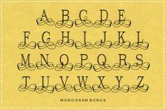 Split Letter Monogram Font Product Image 8