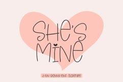 She's Mine - A Fun Skinny Font Product Image 1