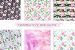 Summer Floral Seamless Patterns Product Image 5