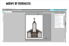 Church SVG / PNG / EPS / DXF files Product Image 5