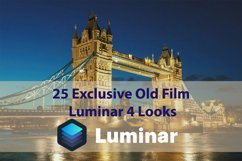 25 Exclusive Old Film Luminar 4 Looks Product Image 1