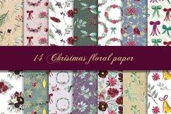 Christmas BUNDLE digital paper pattern Product Image 2