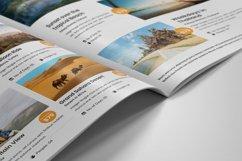 Holiday Travel Brochure Design v5 Product Image 4