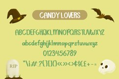 Scary Candy | Cute halloween font with illustration Product Image 6