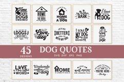 Dog Mom svg bundle - dog quotes svg png eps dxf Product Image 3