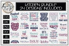 Kitchen SVG Bundle | 24 Unique Cut or Sublimation Designs Product Image 1