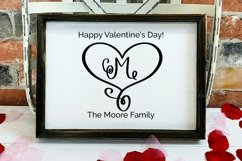 Web Font Love is Magical - A Valentine's Day Monogram Font Product Image 3