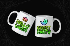 Spooky Green - Handwritten Halloween Font Product Image 4
