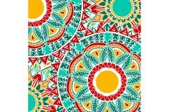Boho flowers - mandala patterns Product Image 2