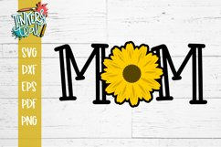 Mom Sunflower SVG Sublimation Product Image 2