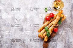 Traditional Italian homemade antipasto grissini Product Image 1
