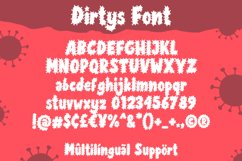Dirtys Font Product Image 4