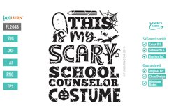 This is My Scary School Counselor Costume SVG Cut File Product Image 2