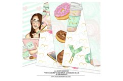 Planner Girl Digital Paper Pack Planning Fashion Product Image 4
