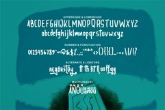 Web Font Bronte - Fun & Bold Font Product Image 5