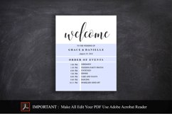 wedding welcome sign, wedding welcome Template Product Image 3