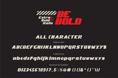 Be Bold italic modern Product Image 2