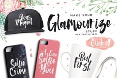 The Glamz Watercolor Fashion Brush Product Image 2