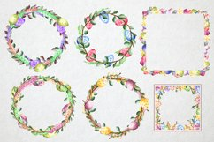 Happy Easter watercolor collection Product Image 3