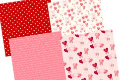 Valentine's Day Seamless Pattern Digital Papers Product Image 4