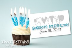 Balloonable - A Hand Drawn Balloon Font Product Image 6