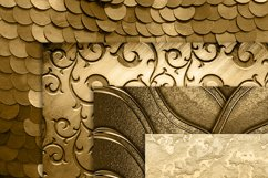 42 Antique Gold Metallic Texture Papers Product Image 5